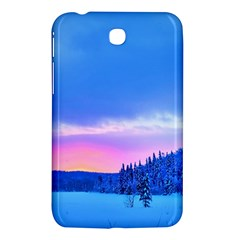 Winter Landscape Snow Forest Trees Samsung Galaxy Tab 3 (7 ) P3200 Hardshell Case