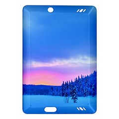 Winter Landscape Snow Forest Trees Amazon Kindle Fire Hd (2013) Hardshell Case
