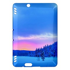 Winter Landscape Snow Forest Trees Kindle Fire Hdx Hardshell Case