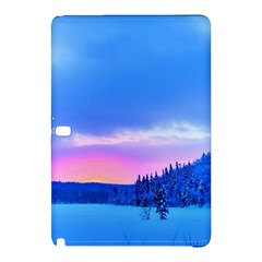 Winter Landscape Snow Forest Trees Samsung Galaxy Tab Pro 10 1 Hardshell Case