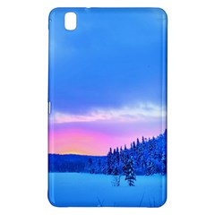Winter Landscape Snow Forest Trees Samsung Galaxy Tab Pro 8 4 Hardshell Case