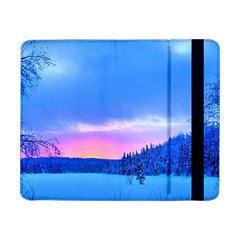 Winter Landscape Snow Forest Trees Samsung Galaxy Tab Pro 8 4  Flip Case