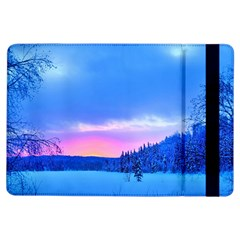 Winter Landscape Snow Forest Trees Ipad Air Flip