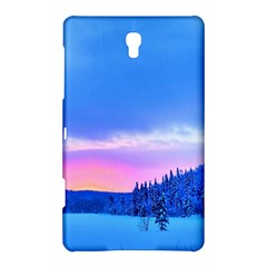 Winter Landscape Snow Forest Trees Samsung Galaxy Tab S (8 4 ) Hardshell Case