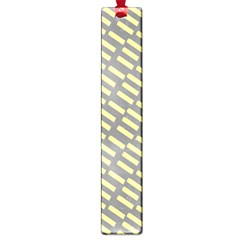 Yellow Washi Tape Tileable Large Book Marks