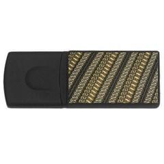 Batik Cap Parang Gendreh Kombinas Usb Flash Drive Rectangular (4 Gb)
