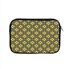 Arabesque Flower Yellow Apple MacBook Pro 15  Zipper Case