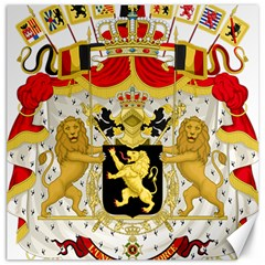 Great Coat Of Arms Of Belgium Canvas 20  X 20