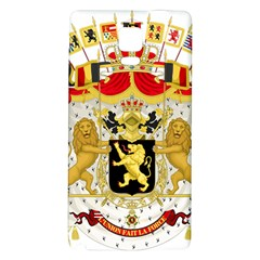 Great Coat Of Arms Of Belgium Galaxy Note 4 Back Case