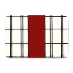 SHOJI - RED Plate Mats