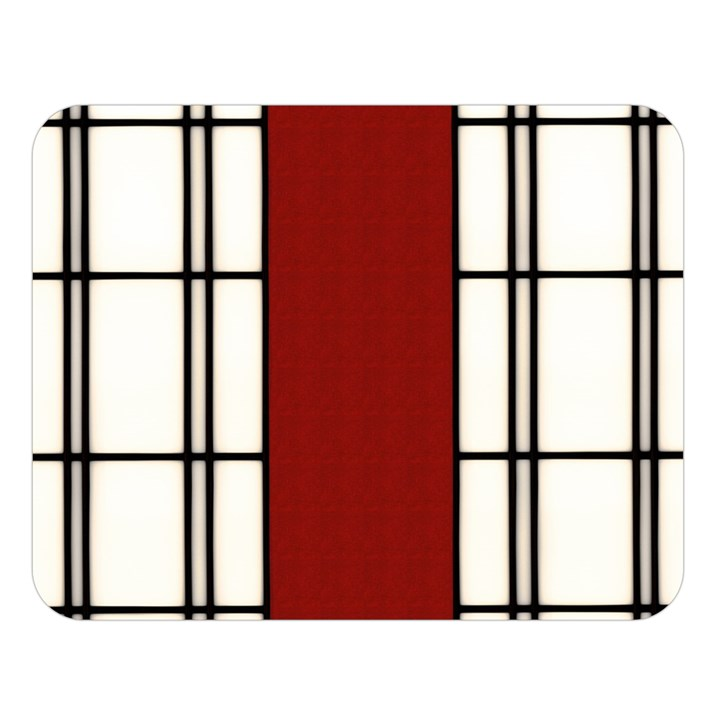 SHOJI - RED Double Sided Flano Blanket (Large)