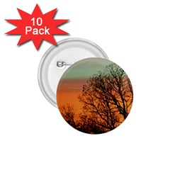 Twilight Sunset Sky Evening Clouds 1 75  Buttons (10 Pack)