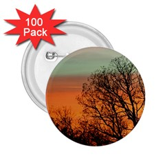 Twilight Sunset Sky Evening Clouds 2.25  Buttons (100 pack)