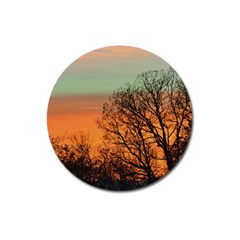 Twilight Sunset Sky Evening Clouds Magnet 3  (round)