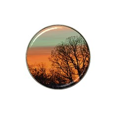 Twilight Sunset Sky Evening Clouds Hat Clip Ball Marker (4 Pack)