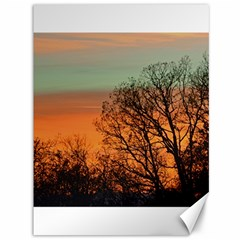 Twilight Sunset Sky Evening Clouds Canvas 36  X 48