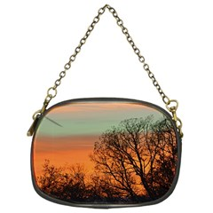 Twilight Sunset Sky Evening Clouds Chain Purses (one Side)
