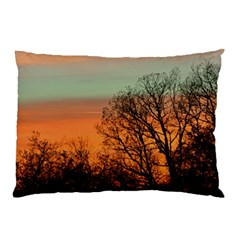 Twilight Sunset Sky Evening Clouds Pillow Case