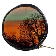 Twilight Sunset Sky Evening Clouds Mini Makeup Bags