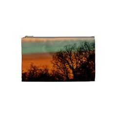 Twilight Sunset Sky Evening Clouds Cosmetic Bag (small)
