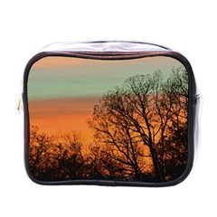 Twilight Sunset Sky Evening Clouds Mini Toiletries Bags