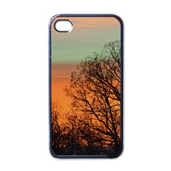 Twilight Sunset Sky Evening Clouds Apple Iphone 4 Case (black)