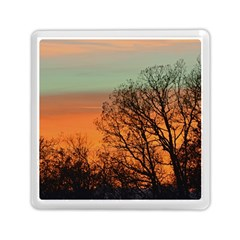 Twilight Sunset Sky Evening Clouds Memory Card Reader (square)