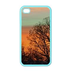 Twilight Sunset Sky Evening Clouds Apple Iphone 4 Case (color)