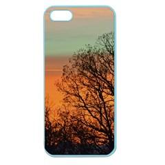 Twilight Sunset Sky Evening Clouds Apple Seamless Iphone 5 Case (color)