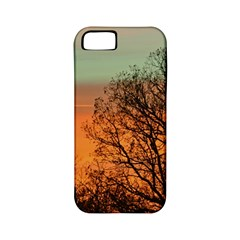 Twilight Sunset Sky Evening Clouds Apple Iphone 5 Classic Hardshell Case (pc+silicone)