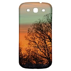 Twilight Sunset Sky Evening Clouds Samsung Galaxy S3 S Iii Classic Hardshell Back Case