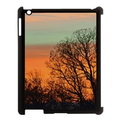 Twilight Sunset Sky Evening Clouds Apple Ipad 3/4 Case (black)