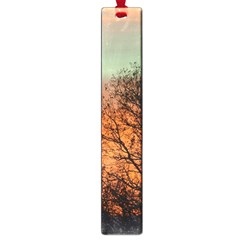 Twilight Sunset Sky Evening Clouds Large Book Marks