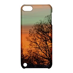Twilight Sunset Sky Evening Clouds Apple Ipod Touch 5 Hardshell Case With Stand
