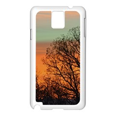 Twilight Sunset Sky Evening Clouds Samsung Galaxy Note 3 N9005 Case (white)