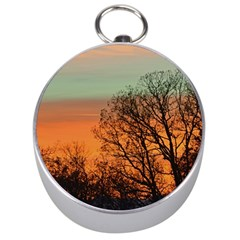 Twilight Sunset Sky Evening Clouds Silver Compasses