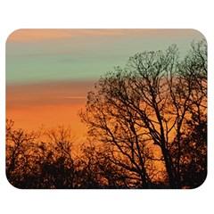 Twilight Sunset Sky Evening Clouds Double Sided Flano Blanket (medium)