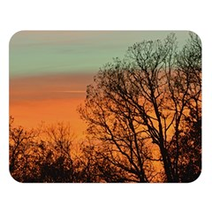 Twilight Sunset Sky Evening Clouds Double Sided Flano Blanket (large)