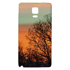Twilight Sunset Sky Evening Clouds Galaxy Note 4 Back Case