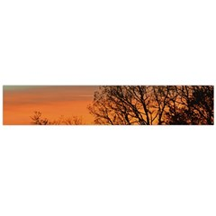 Twilight Sunset Sky Evening Clouds Flano Scarf (large)