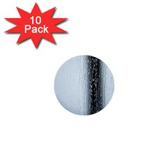 Rain Raindrop Drop Of Water Drip 1  Mini Buttons (10 Pack)