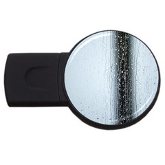 Rain Raindrop Drop Of Water Drip USB Flash Drive Round (2 GB)
