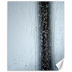 Rain Raindrop Drop Of Water Drip Canvas 16  X 20