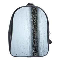 Rain Raindrop Drop Of Water Drip School Bags(large)