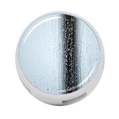 Rain Raindrop Drop Of Water Drip 4 Port Usb Hub (one Side)