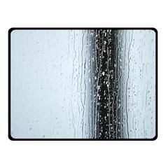Rain Raindrop Drop Of Water Drip Fleece Blanket (Small)