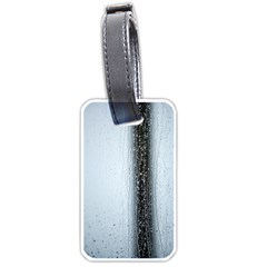 Rain Raindrop Drop Of Water Drip Luggage Tags (one Side)