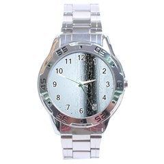 Rain Raindrop Drop Of Water Drip Stainless Steel Analogue Watch