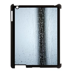 Rain Raindrop Drop Of Water Drip Apple Ipad 3/4 Case (black)