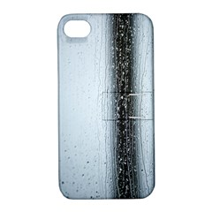 Rain Raindrop Drop Of Water Drip Apple Iphone 4/4s Hardshell Case With Stand
